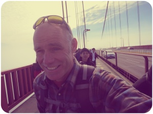 Ed on the bridge rounded